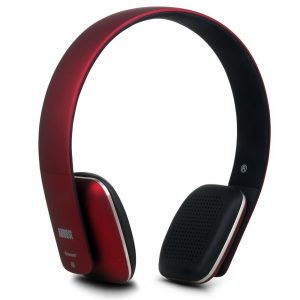august-ep636-auriculares-bluetooth-inalambricos-nfc-rojo